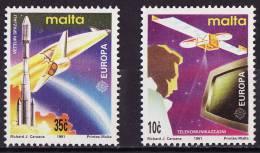 Europa CEPT Malte 1991 Y&T N°833 à 834 - Michel N°854 à 855 *** - Europa-CEPT