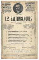 Partition Musicale, Les Saltimbanques, Louis Ganne, Ed : Choudens, Frais Fr : 1.60€ - Partitions Musicales Anciennes
