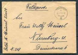 1942 Deutsche Feldpost 23039 Russland Brief (+ Inhalt) - Germany