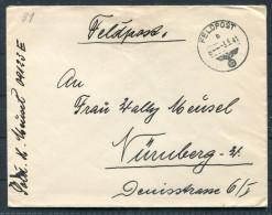 1941 Deutsche Feldpost 09123E Brief (+ Inhalt) - Germany