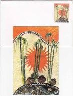 Sugarcane Plant, Art Painting, Pot, Pottery,  Greetings Prepaid Postal Stationery, - Altri