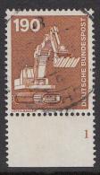 Duitsland - 1136 Met Plaatnummer 1 - Gebruikt/gebraucht/used - Michel 1136 - [7] West-Duitsland