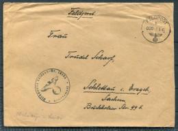 1941 Deutsche Feldpost 18743 Brief - Briefe U. Dokumente