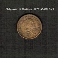 PHILIPPINES    5  SENTIMOS   1970  (KM # 197) - Philippinen