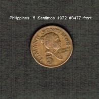 PHILIPPINES    5  SENTIMOS   1972  (KM # 197) - Philippines