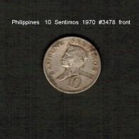 PHILIPPINES    10  SENTIMOS   1970  (KM # 198) - Philippinen
