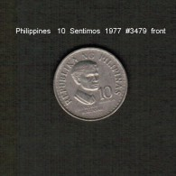 PHILIPPINES    10  SENTIMOS   1977  (KM # 207) - Philippines