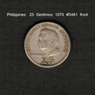 PHILIPPINES    25  SENTIMOS   1970  (KM # 199) - Philippines