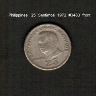 PHILIPPINES    25  SENTIMOS   1972  (KM # 199) - Philippinen