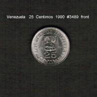VENEZUELA    25  CENTIMOS   1990  (KM # 50a) - Venezuela