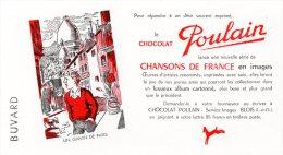 133F)  BUVARD  CHOCOLAT POULAIN - - Chocolat