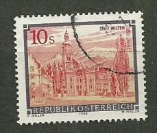 """Autriche Oblitéré ; Y & T N° 1744  ; """" Abbayes Et Monastères"""". - 1945-.... 2ème République"""