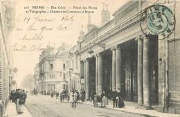 51 REIMS RUE CERES HOTEL DES POSTES - Reims