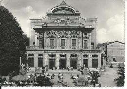VR073 - LEGNAGO- VERONA - F.G. - VIAGGIATA 1951 - TEATRO SALIERI - Verona