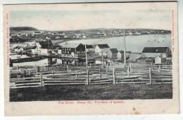 CPA   QUEBEC GASPE Fox River - Gaspé