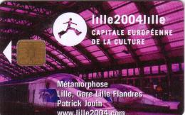 FRANCE STATIONNEMENT PIAF 15€ LILLE 2004 TGV GARE STATION 10.03 1500 EX UT - Cartes De Stationnement, PIAF