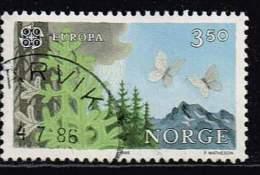 Norwegen 1986/ 88, Michel # 947 + 995 O - Norwegen