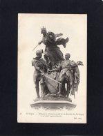 44610   Francia,   Formigny  -  Monument  Commemoratif  De La  Bataille  De  Formigny(detail),  NV - Francia