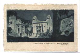 """ARENA Di VERONA - Estate 1921 - """"SANSONE E DALIDA"""" Atto I° - F.p. - Opera"""
