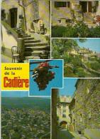 83 - Souvenir De La Cadière D'azur Multivues - Non Circulée - France