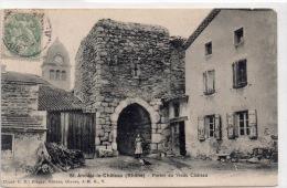 """SAINT ANDEOL LE CHATEAU """"Portes Du Vieux Chateau"""" - France"""