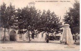 """SAINT ANDEOL LE CHATEAU """"Place De La Mairie"""" - France"""