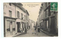 SAINT LEU LA FORET - TAVERNY - VAL D´OISE - RUE DU PLESSYS - MAGASIN - ANIMATION - Saint Leu La Foret