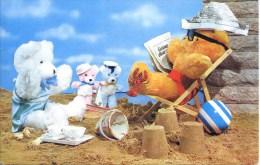 TEDDY BEARS ON BEACH - Games & Toys