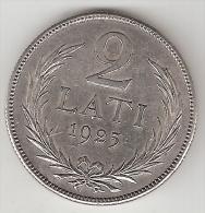 Latvia 5 Lati 1925  Km 8  Xf+ Look !!! - Latvia