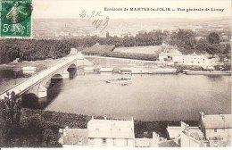MANTES LA JOLIE VUE GENERALE DE LIMAY - Mantes La Jolie