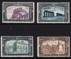 ITALY 1930 SET  MINT LIGHTLY HINGED Y&T 254/257 - Nuevos