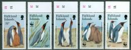 Falkland Islands 1991 Penguins, WWF MNH** - Lot. 2184 - Falkland Islands