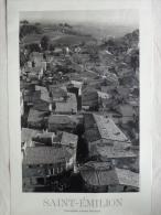 AFFICHE ORIGINALE - BORDEAUX SAINT EMILION - 33- PHOTOGRAPHIE- PHOTO  FERNAND MICHAUD - Affiches