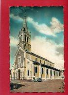 SAINT FLORENT SUR CHER L EGLISE 2 CHEVAUX CITROEN CARTE EN TRES BON ETAT - Saint-Florent-sur-Cher