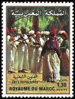 Maroc 0889 ** Serie Completa. 1981 - Maroc (1956-...)