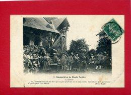 SAINT MARTIN D AUXIGNY 1913 INAUGURATION DU MUSEE FORETIN LA POELEE CARTE EN TRES BON ETAT - Frankreich