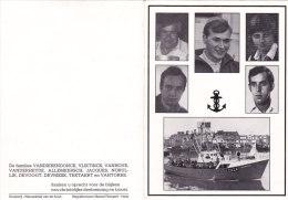 Vissers-vergaan-zee, Z.424, Zeebrugge, Vandierendonck,Allemeersc H,Norullie,Durie,Teetaert , 1984 - Religion & Esotérisme