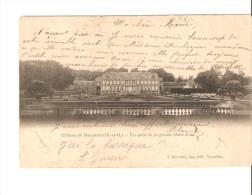 CHATEAU DE DAMPIERRE VUE PRISE DE LA GRANDE CHUTE D'EAU - Dampierre En Yvelines