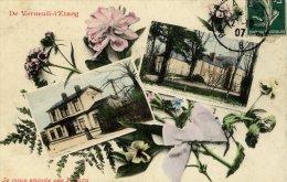 77-Verneuil-l´Etang- Je Vous Envoie Ces Fleurs- 1907-2 Vues - France