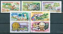 UNGARN - Mi-Nr. 3014 - 3020 - 100. Geburtstag Von Albert Schweitzer Gestempelt - Erforscher