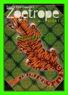 PUBLICITÉ - ADVERTISING - FRANCIS FORD COPPOLA´S MAGAZINE ZOETROPE - TIGER - TIGRE -  GO-CARD - - Pubblicitari