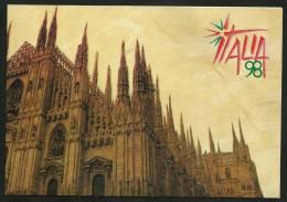 ITALIA 1998 - MONDIALE FILATELIA Milano - Libretto Con 6 CHIUDILETTERA Fiera - Lotto N. 59 - Erinnofilia