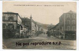 - Villefranche De ROUERGUE - Avenue  Raymond De Saint Gilles, Cycle, AUTO, Pneus Continent, Non écrite, BE, Scans. - Villefranche De Rouergue