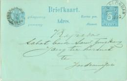 NED. INDIE * HANDGESCHREVEN BRIEFKAART Uit 1890 Van Pekalongan Naar INDRAMAJOE (8313j) - Niederländisch-Indien