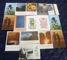 15 Postkaarten Met Een Boodschap/gedicht - 5 - 99 Postkaarten