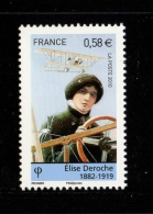 France 2010- Un Gommé  YT N° 4504** ELISE DEROCHE 0.58 Euro - Neufs