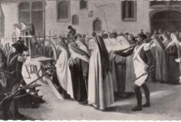 Real Photo - Carmelites Carmel - Martyrs De Compiègne - Religion Revolution - VG Condition - 2 Scans - Compiegne