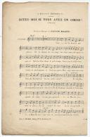 Partition, Dites Moi Si Vous Avez Un Coeur ?, Paroles Et Musique De GASTON MAQUIS, E.Meuriot Editeur, Frais Fr:1.60€ - Partitions Musicales Anciennes