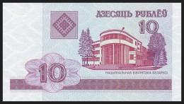 BELARUS. 10 Rublei - 2000. Pick 23. Serial CH. UNC - Belarus