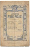 Partition, Célébres Mélodies Anglaises, Enoch & Cie Editeurs, Frais Fr:1.60€ - Partitions Musicales Anciennes